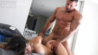 Buff Spunky Spanish Guy Plows Puny 18 Yr Senior Latina Honey Hardcore